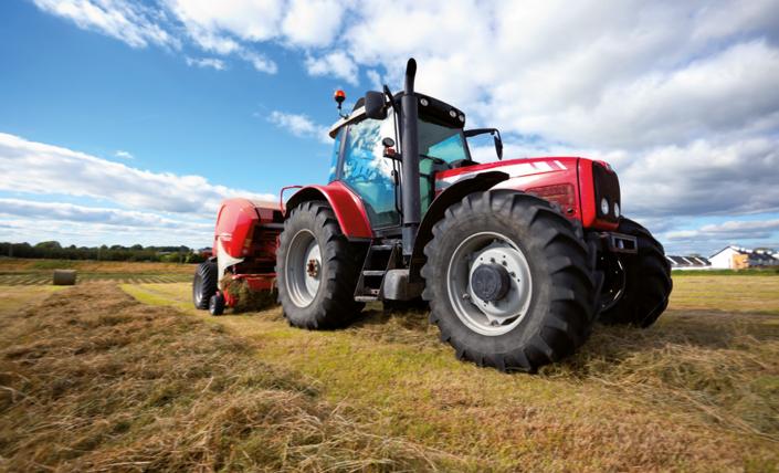 Landmaschinen - Motorkühlung und Klimatisierung